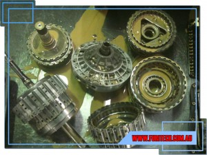 Ford Falcon & Territory 6 Speed ZF6HP26 Water Damage Internals