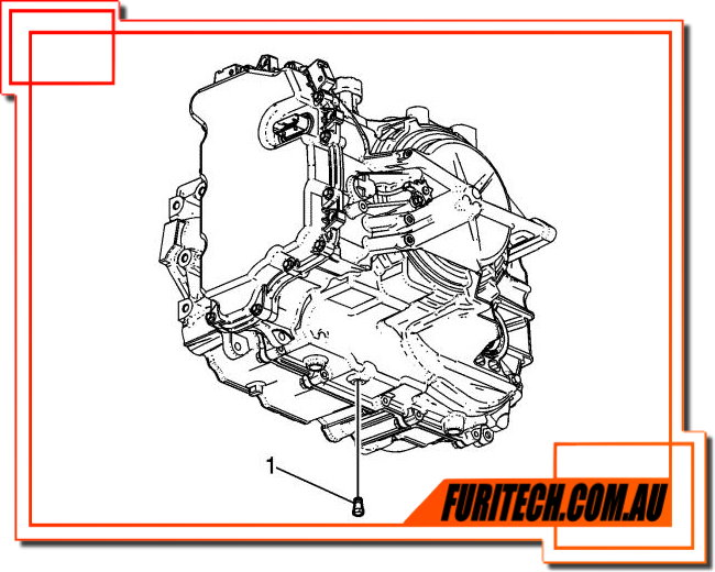 holden  chevy cruze 6t40  45 transmission service procedure