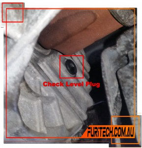 GETRAG 6DCT MPS6 Dual Clutch Transmission Check Level Plug Location