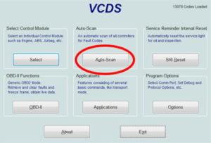 Volkswagen VCDS Auto-Scan